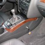 Audi A4 manuális 6 sebességes váltózár 2007-től (fotó)