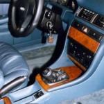 Audi A6 manuális váltózár (fotó)