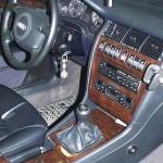 Audi A8 manuális váltózár (fotó)
