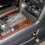 Audi Q7 tiptronic váltózár (fotó)
