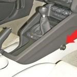 Audi TT manuális váltózár (fotó)