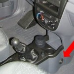 Chevrolet Spark manuális váltózár (fotó)